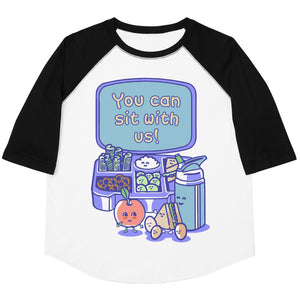 You Can Sit With Us Youth Baseball Tee