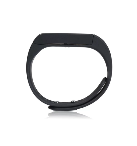 iParis Mens i9 iOS Black Smart Bracelet Fitness Tracker - iparis