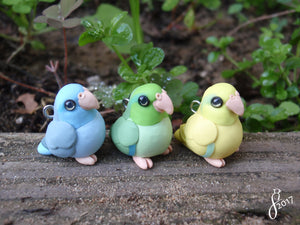 New Collection: Parrotlets -- My Week in Clay 6/2