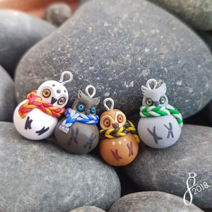 Bundled Owl Charms