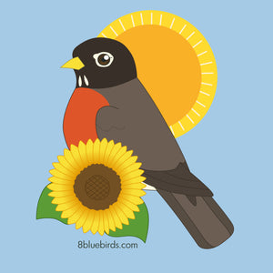 Early Bird Robin T-Shirt
