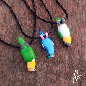 Custom Hanging Bird Pendant