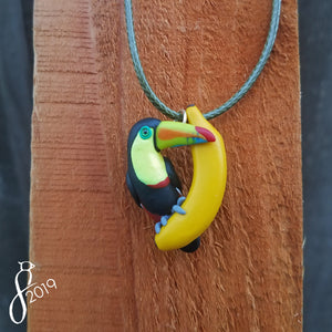 Keel-Billed Toucan Pendant
