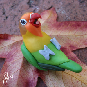 Custom Bird Figurine