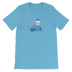 Blueberry Budgie T-Shirt