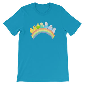 Budgie Rainbow T-Shirt