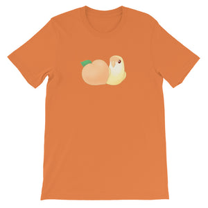 Peach Cream Lovebird T-Shirt