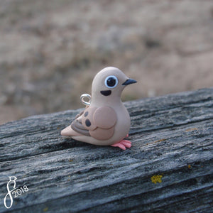 Mourning Dove Charm