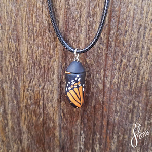 Monarch Chrysalis Pendant