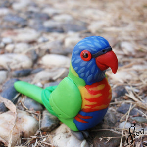Detailed Custom Bird Figurine