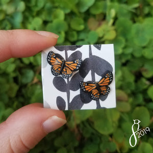 Monarch Stud Earrings
