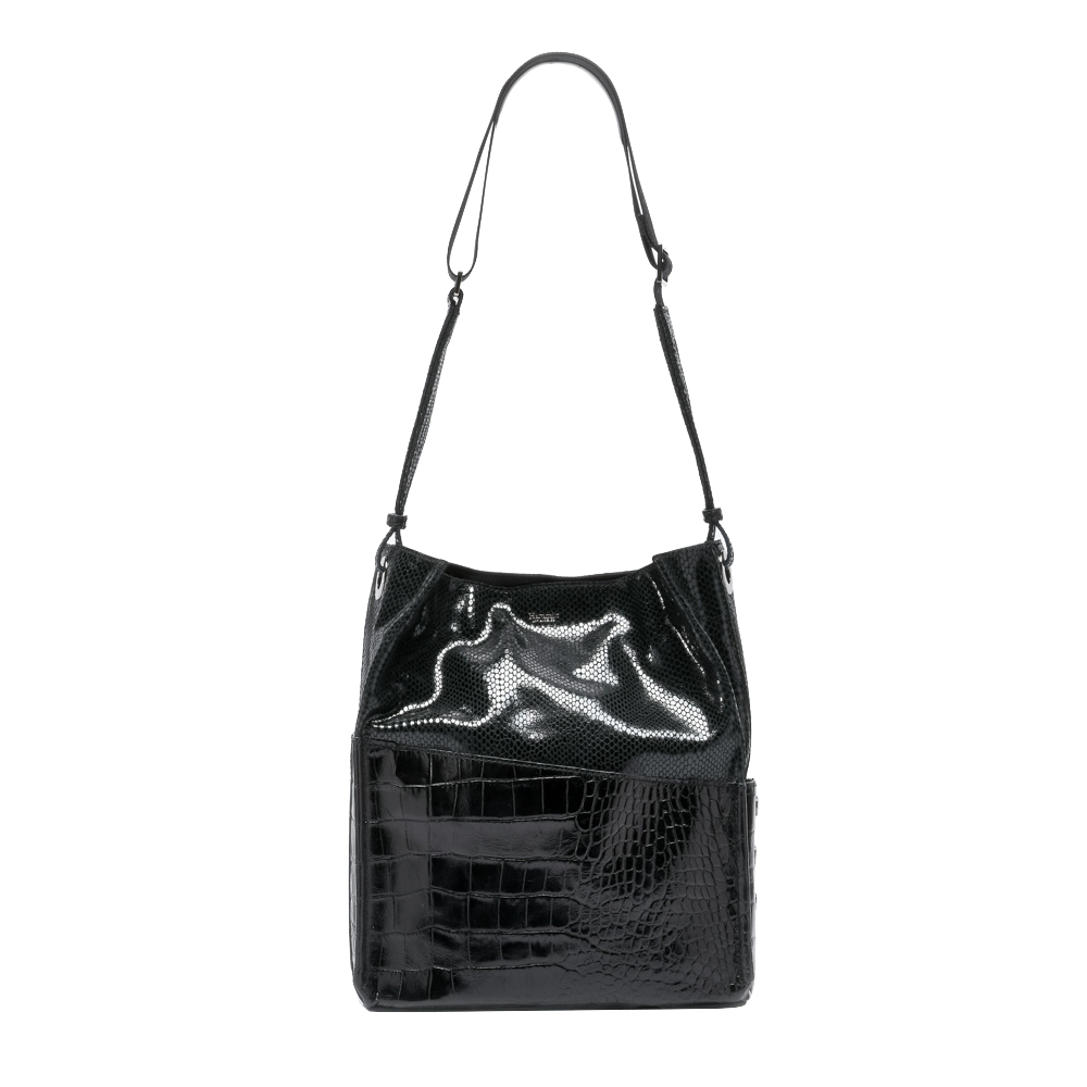 Davis Black Powder Bucket Bag