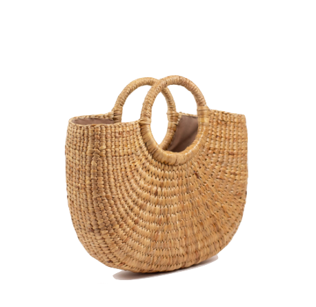 Large Camryn Grass Tote