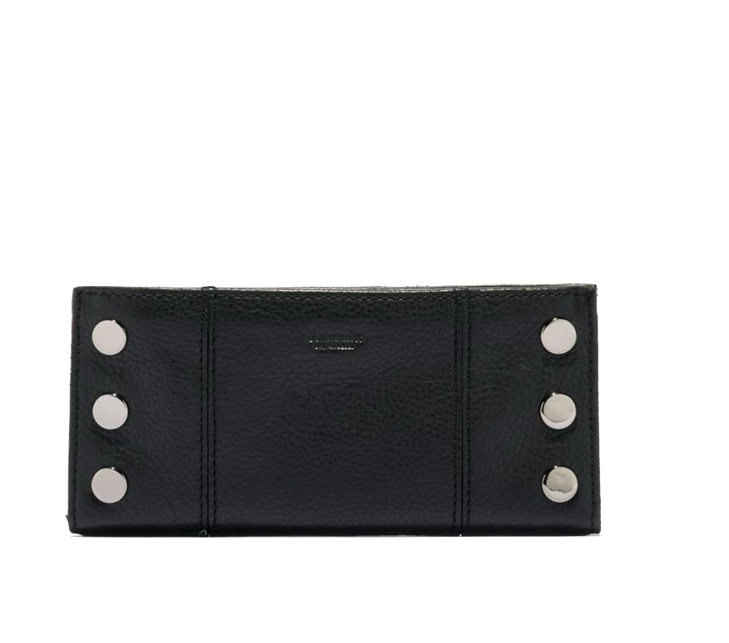 Black and Gunmetal Hardware 110 North Wallet