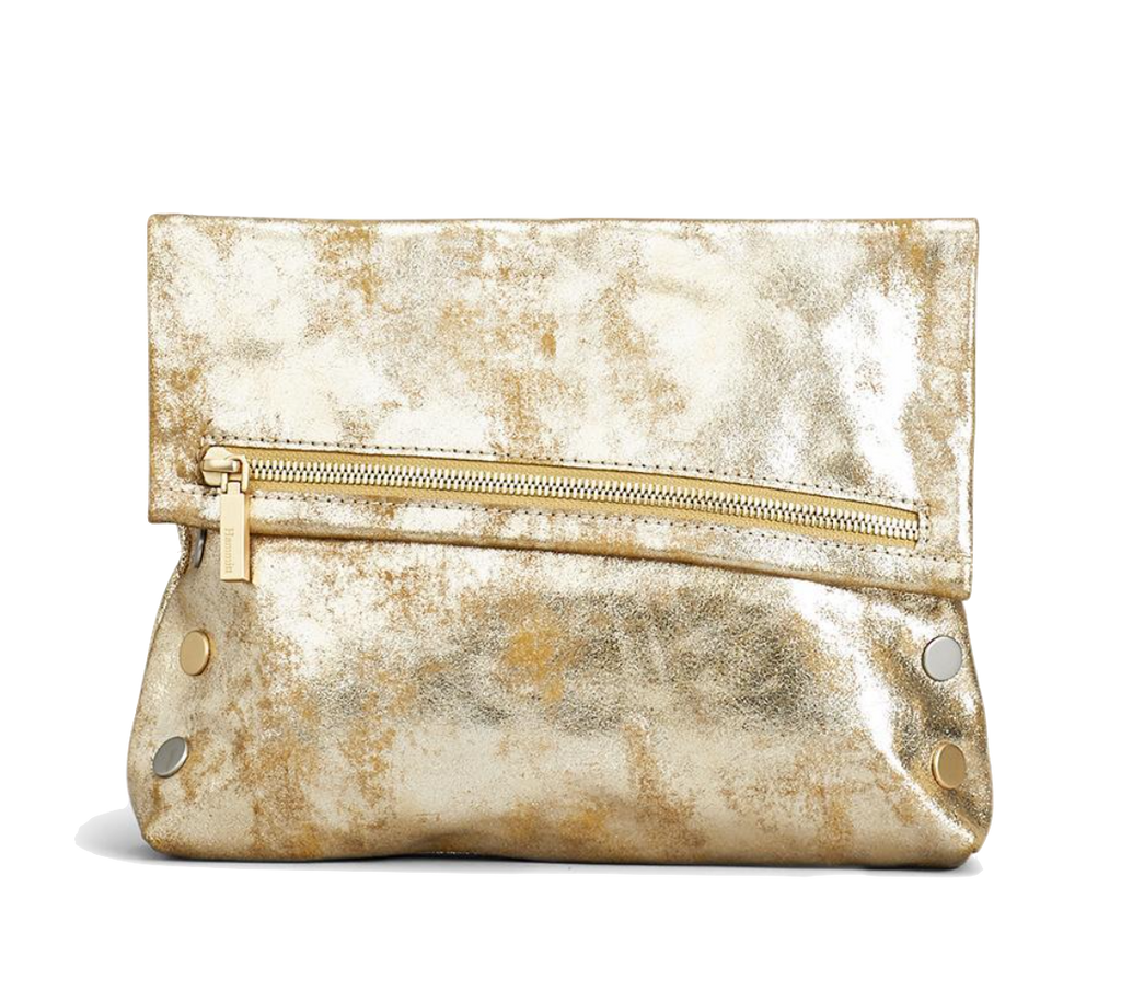 Metallic Brushed Gold VIP Clutch