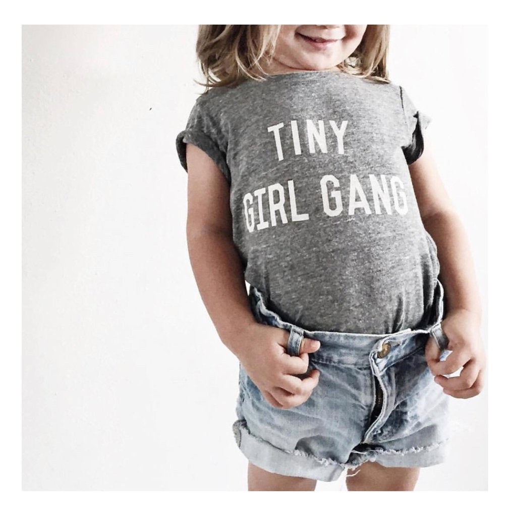Tiny Girl Gang Tee for little girls