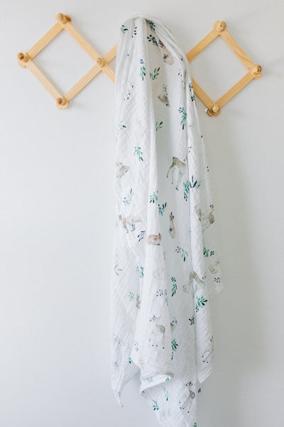 Muslin Swaddle - Woodland - Barna & Co