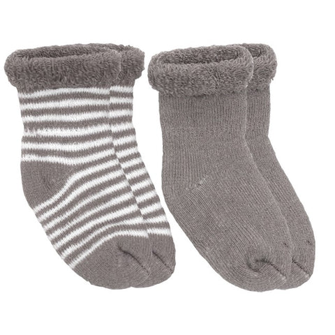 Terry Newborn Socks - Mocha - Barna & Co