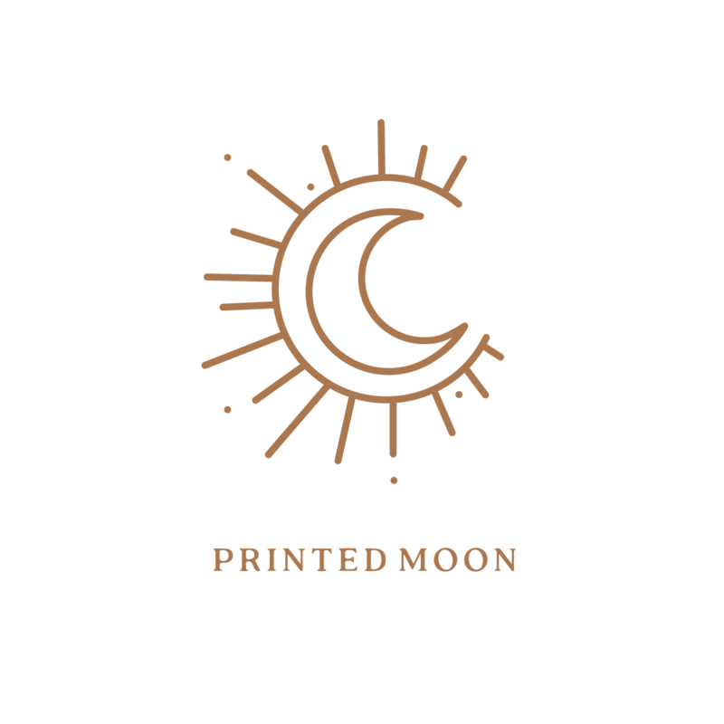 Printed Moon logo
