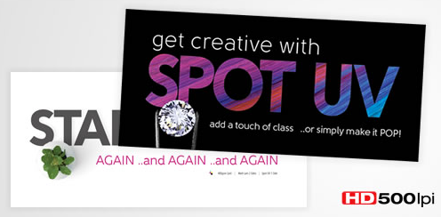 SAY HELLO TO SPOT UV PRINT
