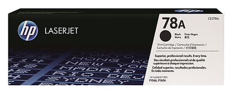 HP 78A (CE278A) Black Original LaserJet Toner Cartridge - Sisupplies.com