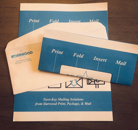Starwood Print Package & Mail   *Contact us for Pricing !