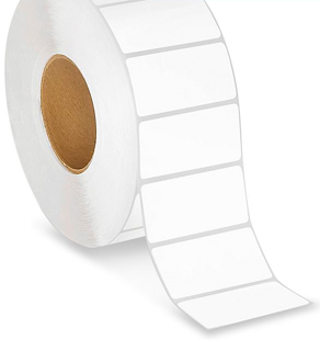 "3"" x 1.25"" Thermal Roll Labels - 3"" Core"