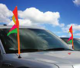 "ANTENNA FLAGS 32"" SLEEVE (12) - Sisupplies.com"