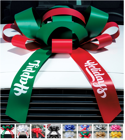 GIANT CAR BOW -  Magnetic Bows - Sisupplies.com