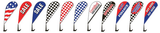 Clip on Paddle Flags #4788-01SI - Sisupplies.com