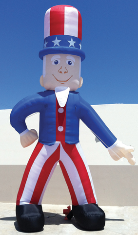 UNCLE SAM INFLATABLE KIT - 25' TALL - Sisupplies.com