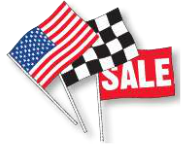 ANTENNA FLAGS - SUPREME CLOTH (12) - Sisupplies.com
