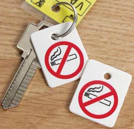 NO SMOKING REMINDER KEY TAGS (250) - Sisupplies.com