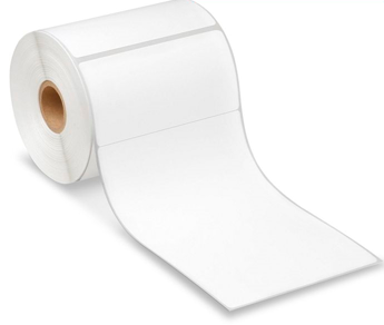 "$10.45 a Roll**Special!  UPS Shipping Labels - 4 by 6"" Rolls 2"" tab White Paper IR scannable"