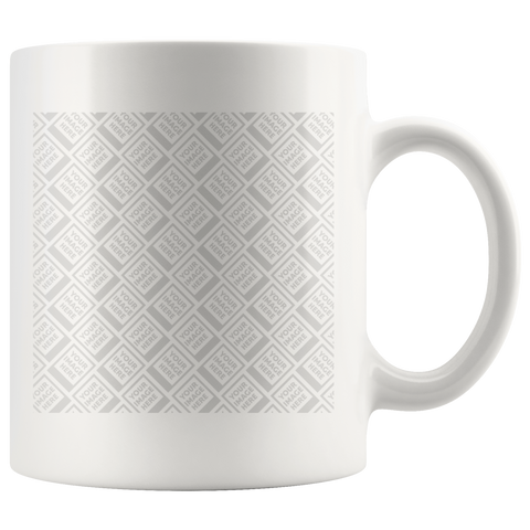 Custom Mugs 11oz  and your logo or personalization - Sisupplies.com
