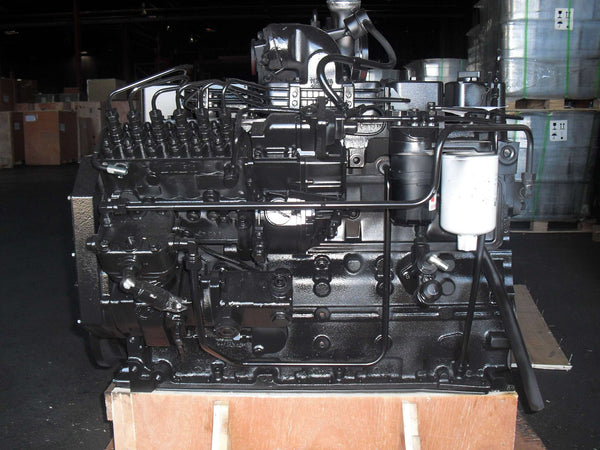 New Cummins 6B, 6BT, 6BTA 5.9L 12 Valve Complete Engine No Core Required