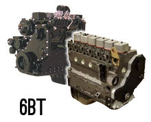 New Cummins 6B, 6BT, 6BTA 5.9L  12 Valve Long Block Engine