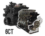 Cummins 6CT Marine Long Block - Advanced Machinery Parts