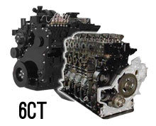New Cummins 6C, 6CT, 6CTA 8.3L Long Block Crate Engine