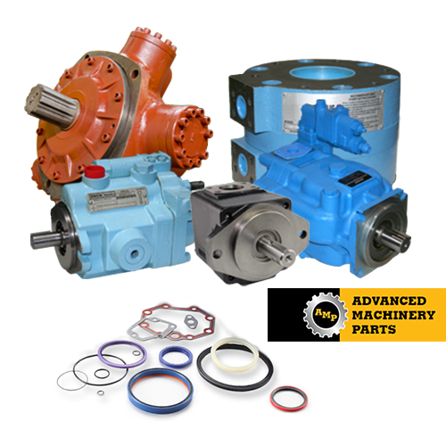 AT63095 JOHN DEERE REPLACEMENT HYDRAULIC PUMP MADE IN THE U.S.A. HEAVY DUTY CAST IRON