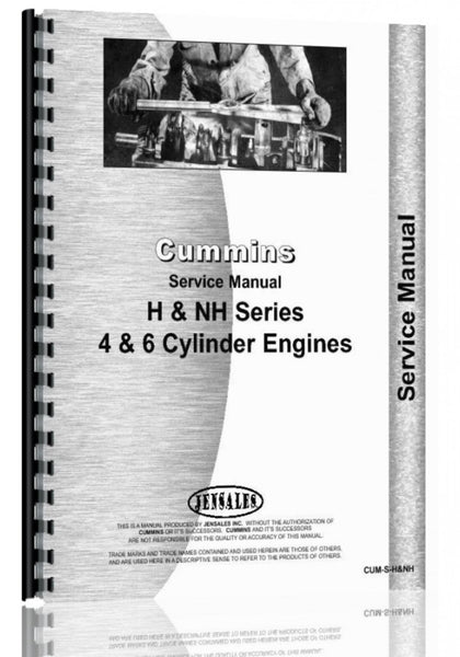 Service Manual for Cummins H, NH Engine