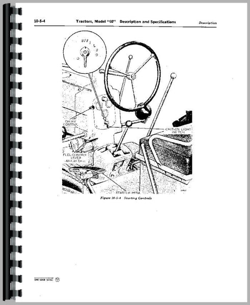 Service Manual for John Deere 2630 Tractor