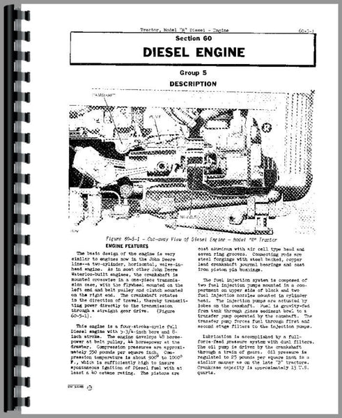 Service Manual for John Deere 1650 Tractor