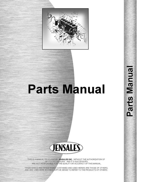 Parts Manual for Cummins NH 180 Engine