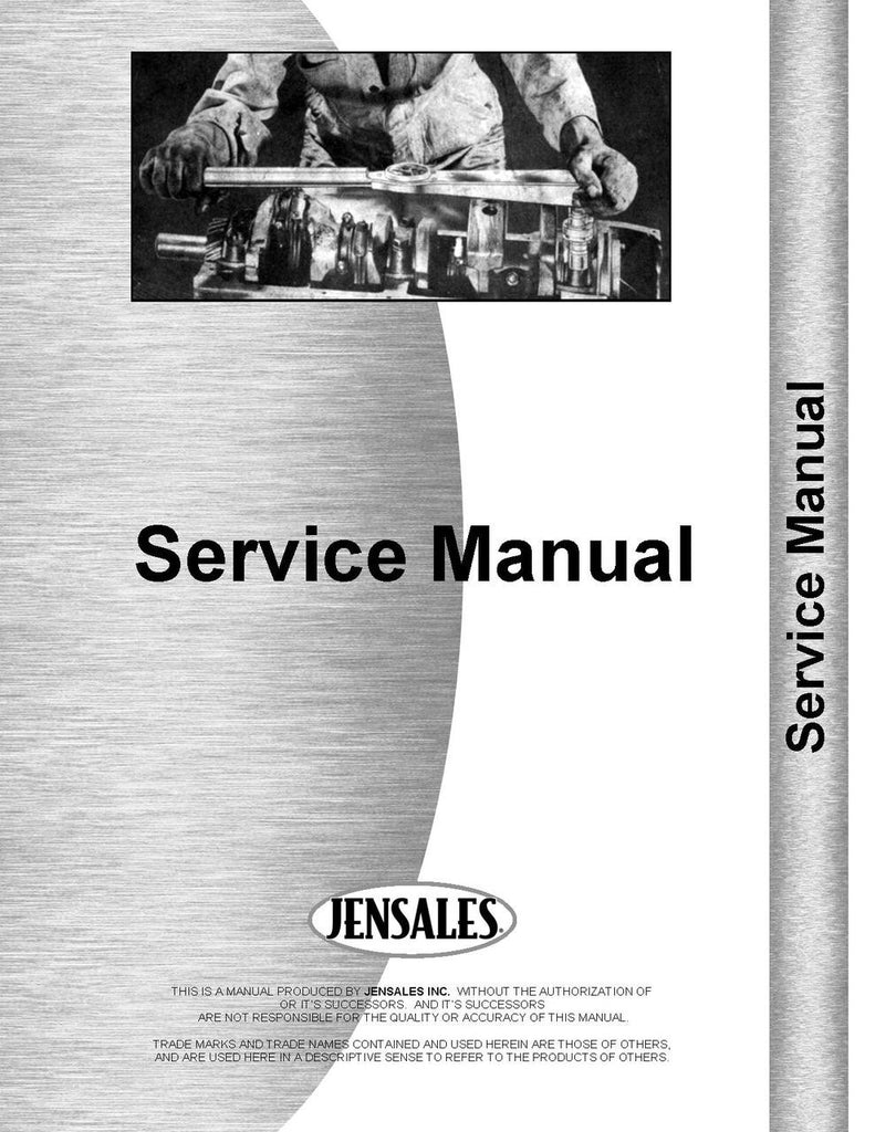 Pony Massey Harris Wiring Diagram Service Manual For All Follow Up Hydraulics Advanced