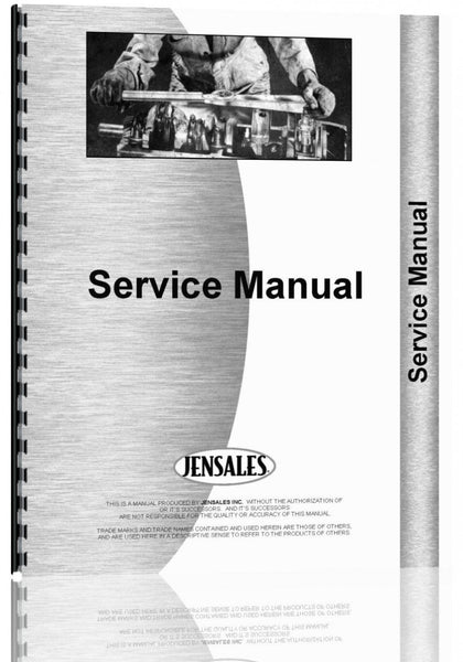 Service Manual for Gehl WR206 Wheel Rake