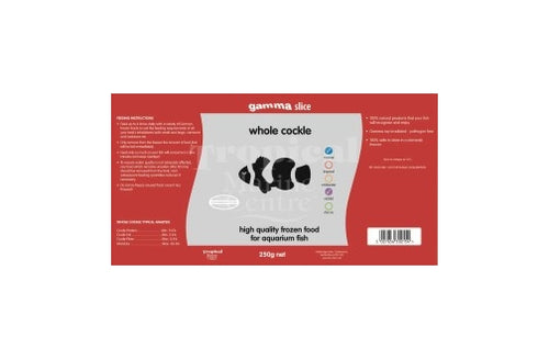 Gamma Slice Whole Cockle Flat pack 250g