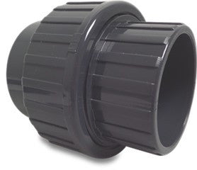 Union Solvent Weld PVC Fitting