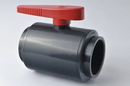 Ball Valve Economy One piece PVC Solvent weld 50mm