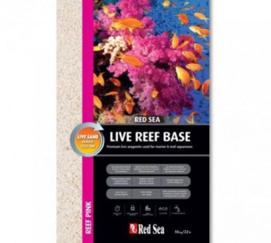 Red Sea Live Reef Base Sand 10Kilo Bag